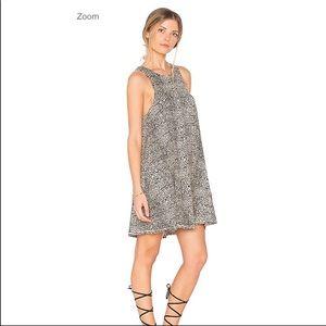Amuse Society Leopard Cheetah Print Mini Dress